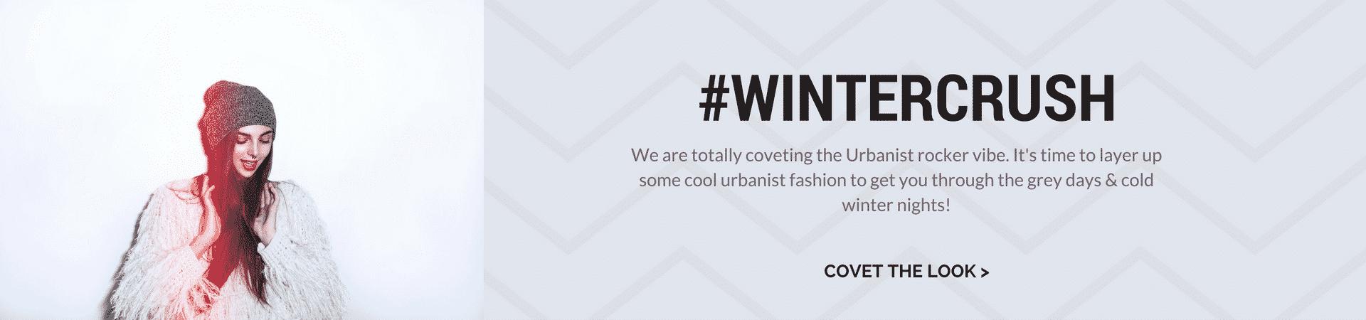 Covetboard WinterCrush Urbanist Collection