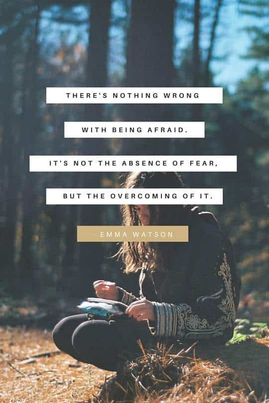 Overcome Fear | Covetboard Quotes