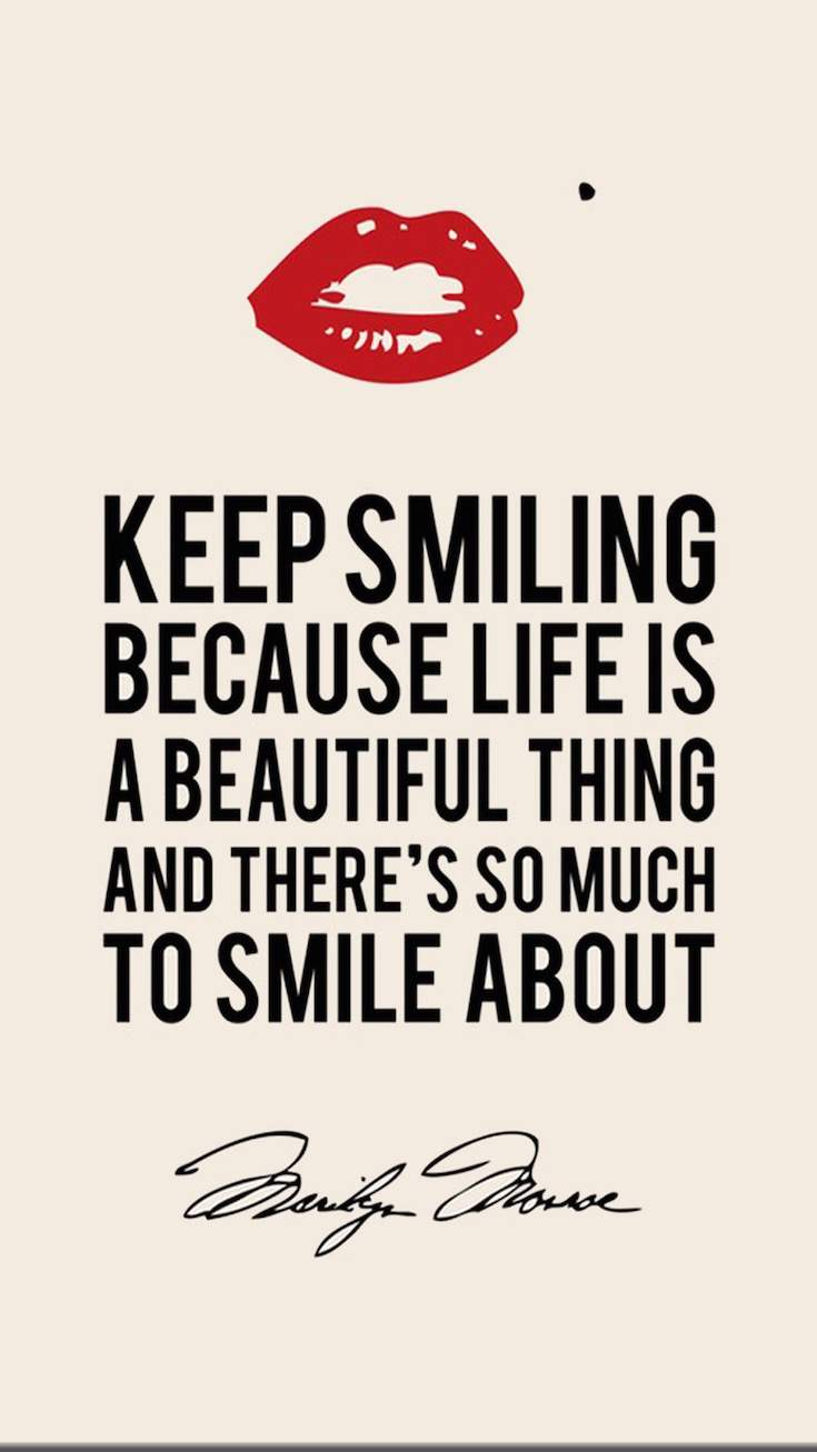Keep Smiling | Covetboard Quotes