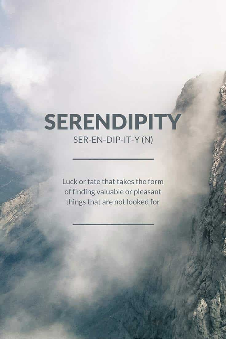 Serendipity | Covetboard Quotes