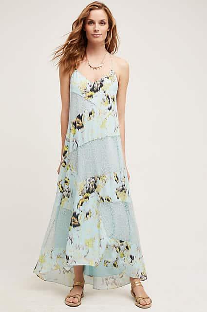 Anthropologie Rainflower Lace Dress by Sachin + Babi | Covetboard Bohemian Fashion Lifestyle