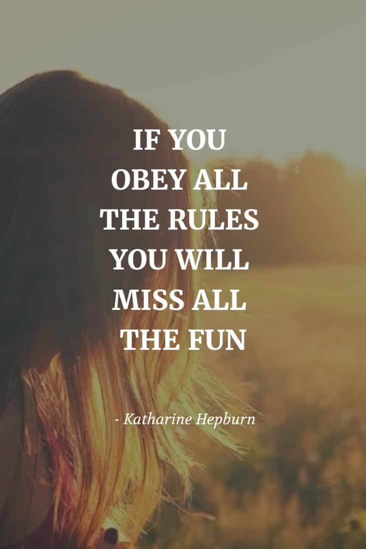 Forget the Rules | Covetboard Quotes
