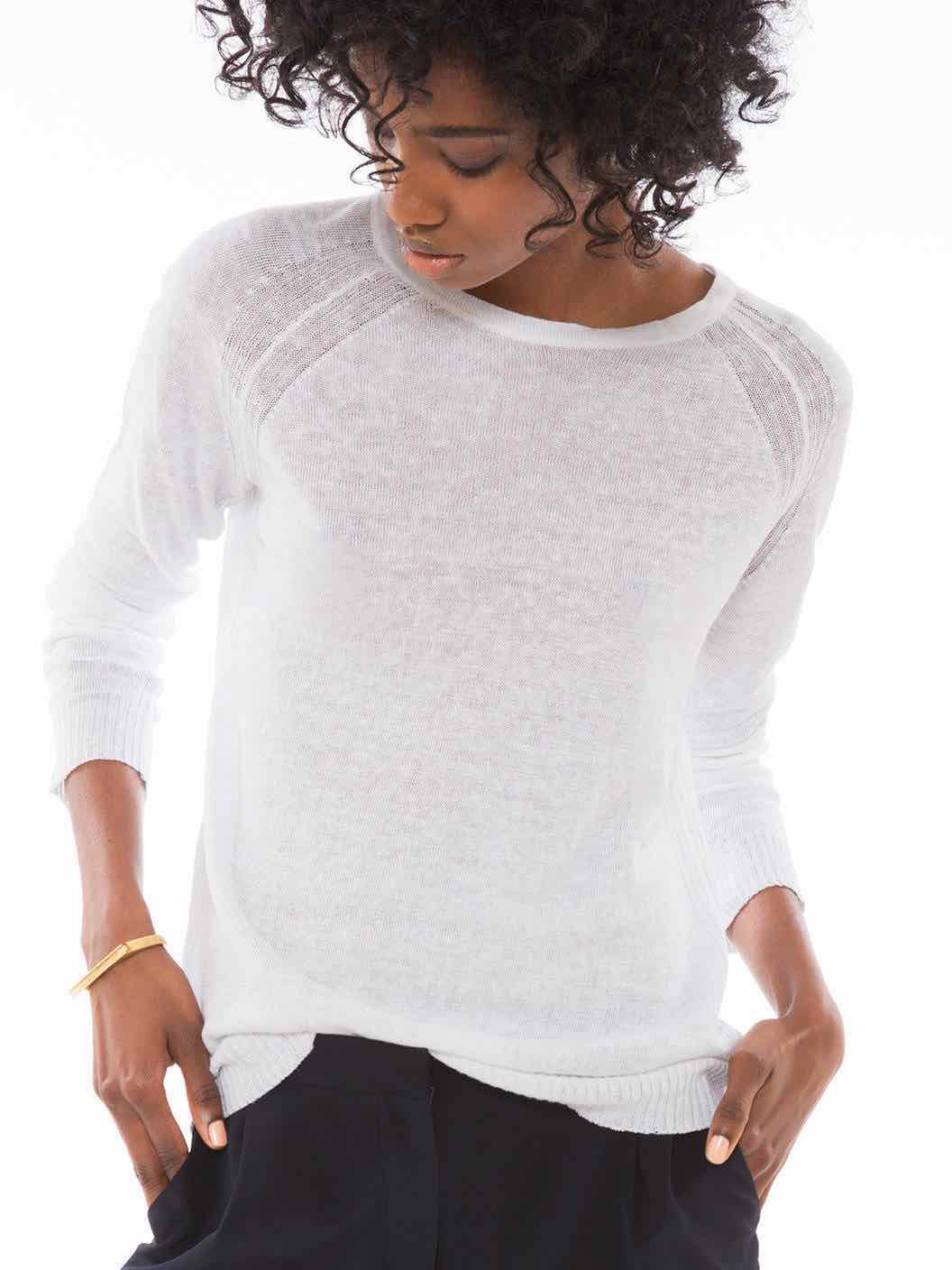 Minimalist Linen Sweater | ZADY - Covetboard Minimalist Fashion Lifestyle