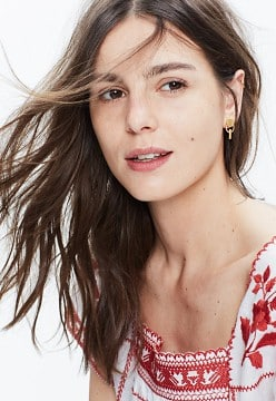 Sunflair Hope Earrings | Madewell - Covetboard Classic Lifestyle Fashion