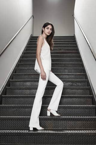 J BRAND Brya Boot Cut Jean in Blanc | Covetboard Minimalist Fashion Lifestyle
