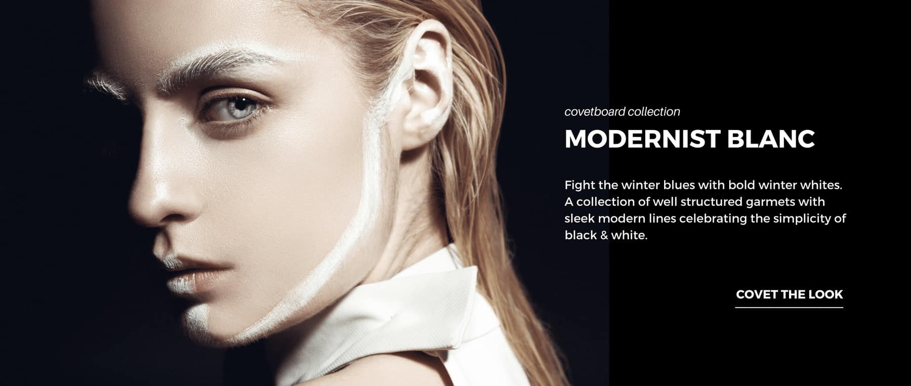 Covetboard Modernist Blanc Fashion Collection