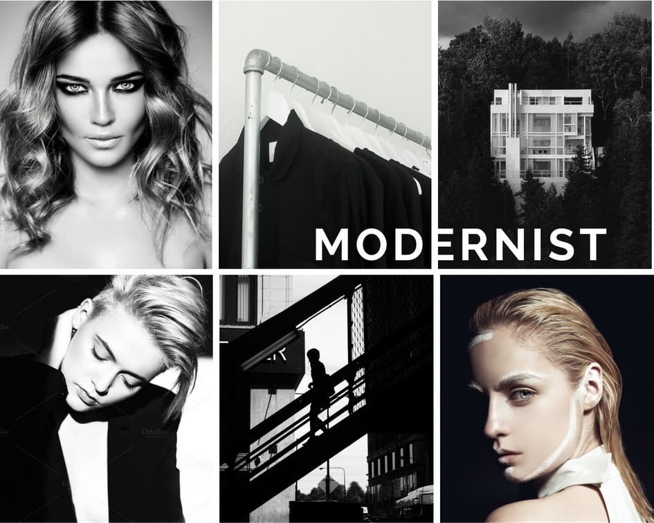 Modernist Fashion Lifestyle on Covetboard