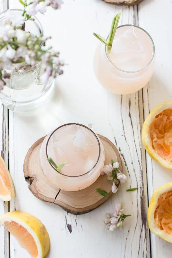 Grapefruit, Ginger, and Lemongrass Sake Cocktails | The Bojon Gourmet | Covetboard Classic Home Lifestyle