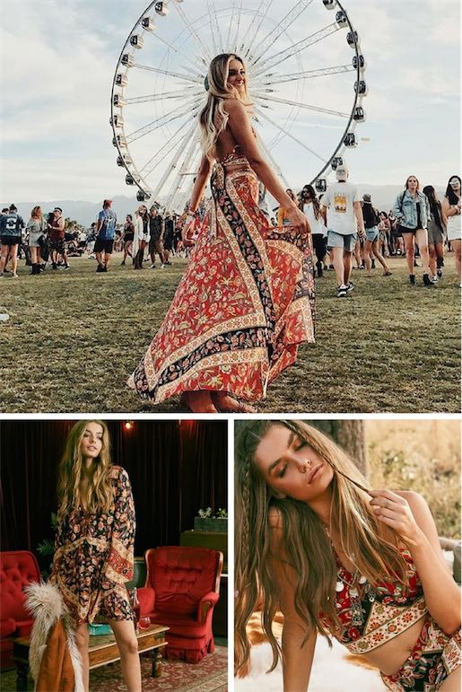 Bohemian Festival Edit | Spell Designs | Covetboard